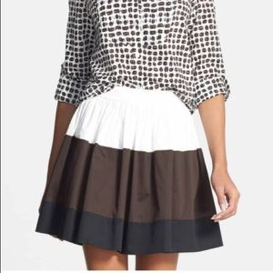 NWT Kate Spade Color Block Coreen Skirt